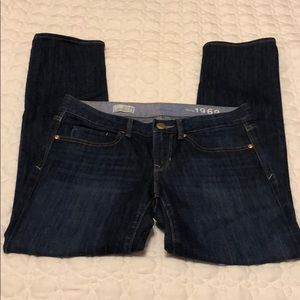 Gap Jeans Real Straight Size 27/4 Ankle